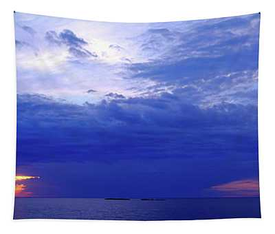 Storm Over A Lake, Lake Superior Tapestry