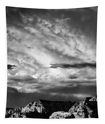 Storm Over Sedona Tapestry