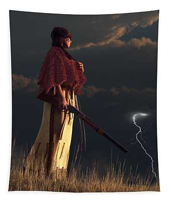 Stormwatcher Tapestry