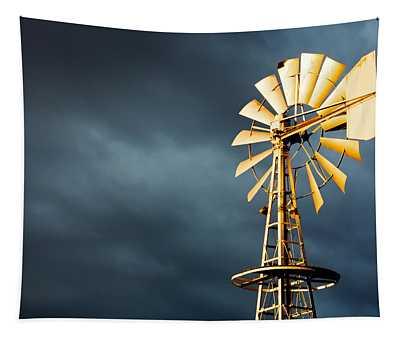 Stormy Skies Tapestry