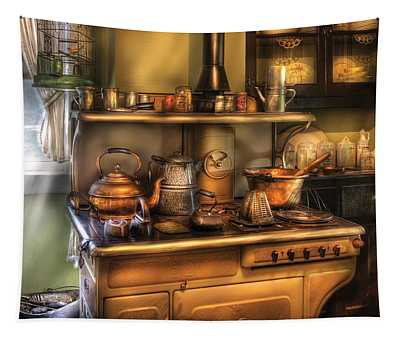 Stove - What's For Dinner Tapestry