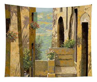 stradina a St Paul de Vence Tapestry
