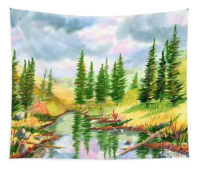 Strawberry Reservoir 2 Tapestry