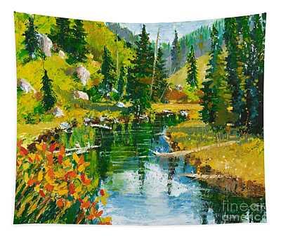 Strawberry Reservoir Tapestry
