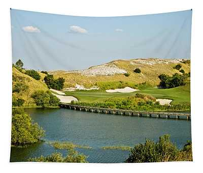 Streamsong Blue No.7 Tapestry