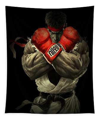 Street Fighter Tapestry
