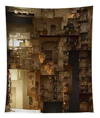 Streets Of Gold Tapestry