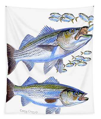 Stripers Tapestry