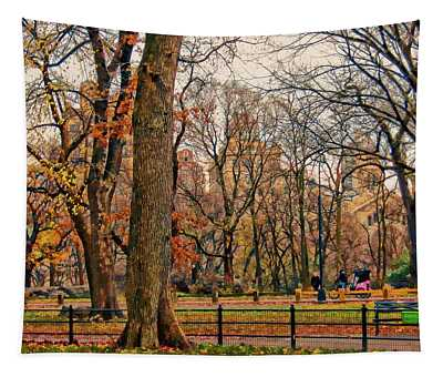 Stroll In The Park Tapestry