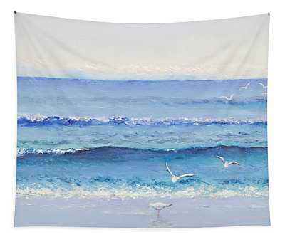 Summer Seascape Tapestry