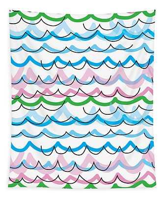 Summer Seaside  Tapestry