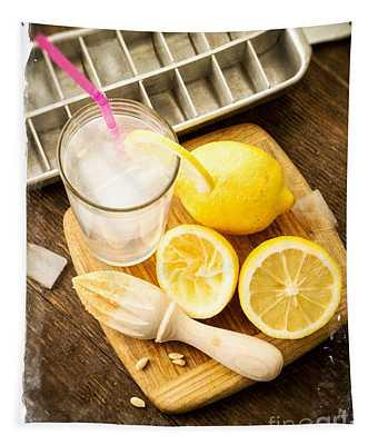 Summertime Lemonade Tapestry