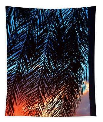 Sun Palm Tapestry