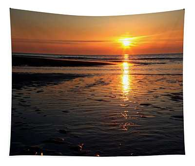 Sundown At The North Sea Tapestry