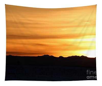 Sundre Sunset Tapestry
