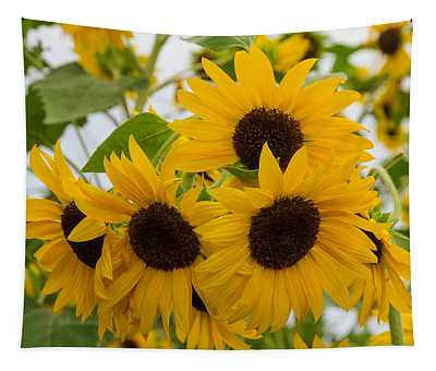 Sunflower Bouquet Tapestry
