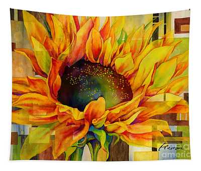 Sunflower Canopy Tapestry
