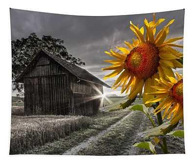 Sunflower Watch Tapestry
