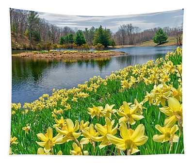 Sunny Daffodil Tapestry