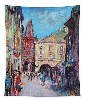 Sunny Side  Prague Tapestry