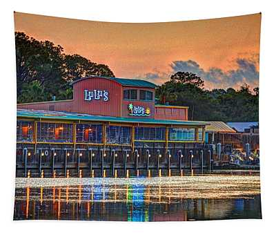 Sunrise At Lulu's Tapestry