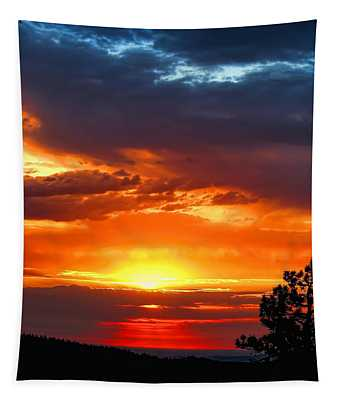 Sunrise Over Keystone Tapestry