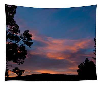 Sunrise Over Mammoth Campground Tapestry