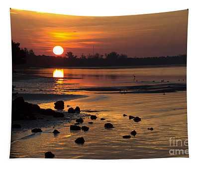 Sunrise Photograph Tapestry