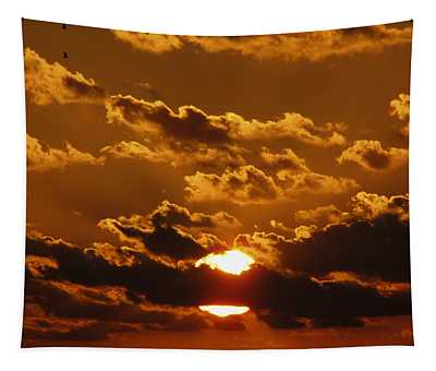 Sunset 5 Tapestry