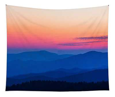 Sunset At Clingmans Dome, Great Smoky Tapestry