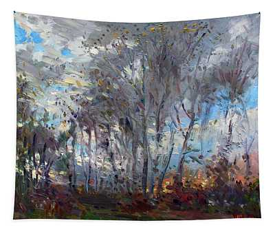 Sunset At Royal Park Tapestry