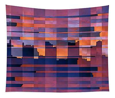 Sunset City Tapestry