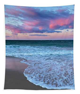 Sunset East Square Tapestry