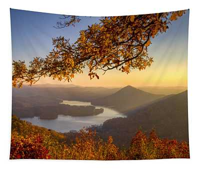 Sunset Light Tapestry
