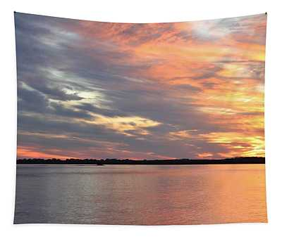 Sunset Magic Tapestry