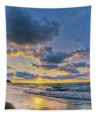 Sunset Over Lake Superior, Keweenaw Tapestry