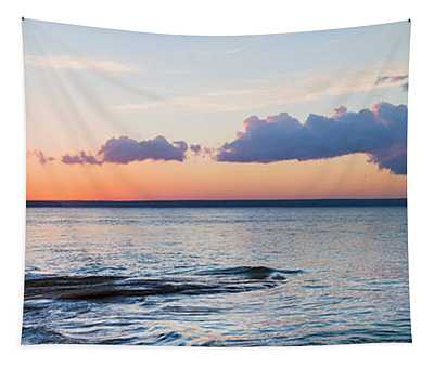 Sunset Over Miners Beach, Pictured Tapestry