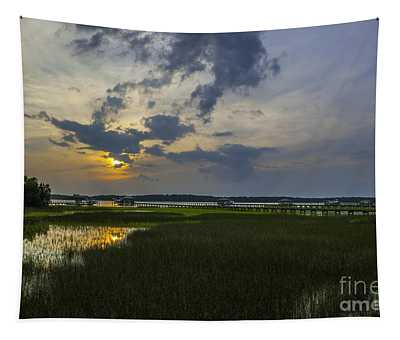 Sunset Over The Wando Tapestry