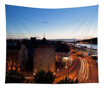 Sunset Over Waterford City, County Tapestry