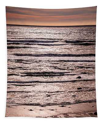 Sunset Ocean Tapestry