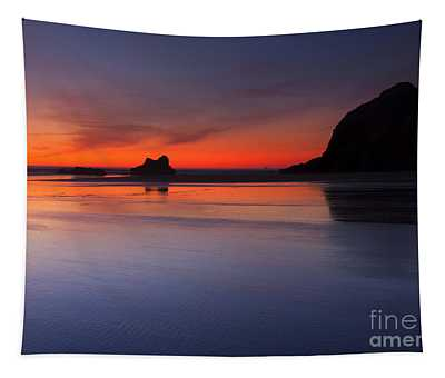 Sunset Reflections Tapestry