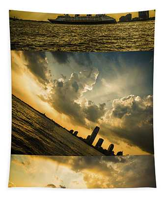 Sunset Trilogy Tapestry
