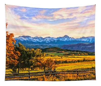 Sunset View Tapestry