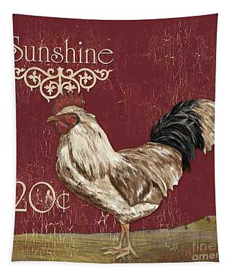 Sunshine Rooster Tapestry