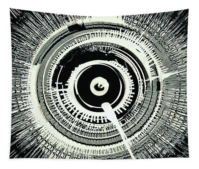 Super Nova Black Tapestry