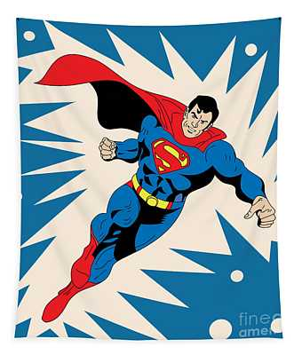 Superman 8 Tapestry