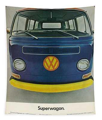 Superwagon Tapestry