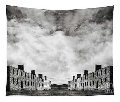 Surreal Landscape Crown Point Tapestry