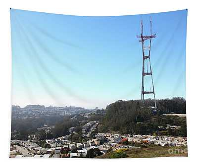 Sutro Tower San Francisco California 5d28068 Tapestry