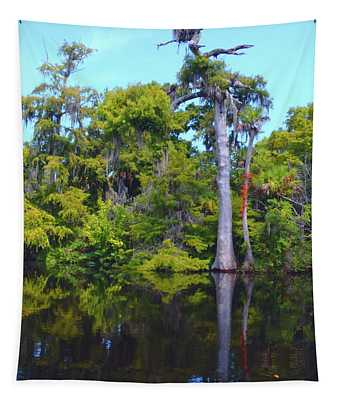 Swamp Land Tapestry